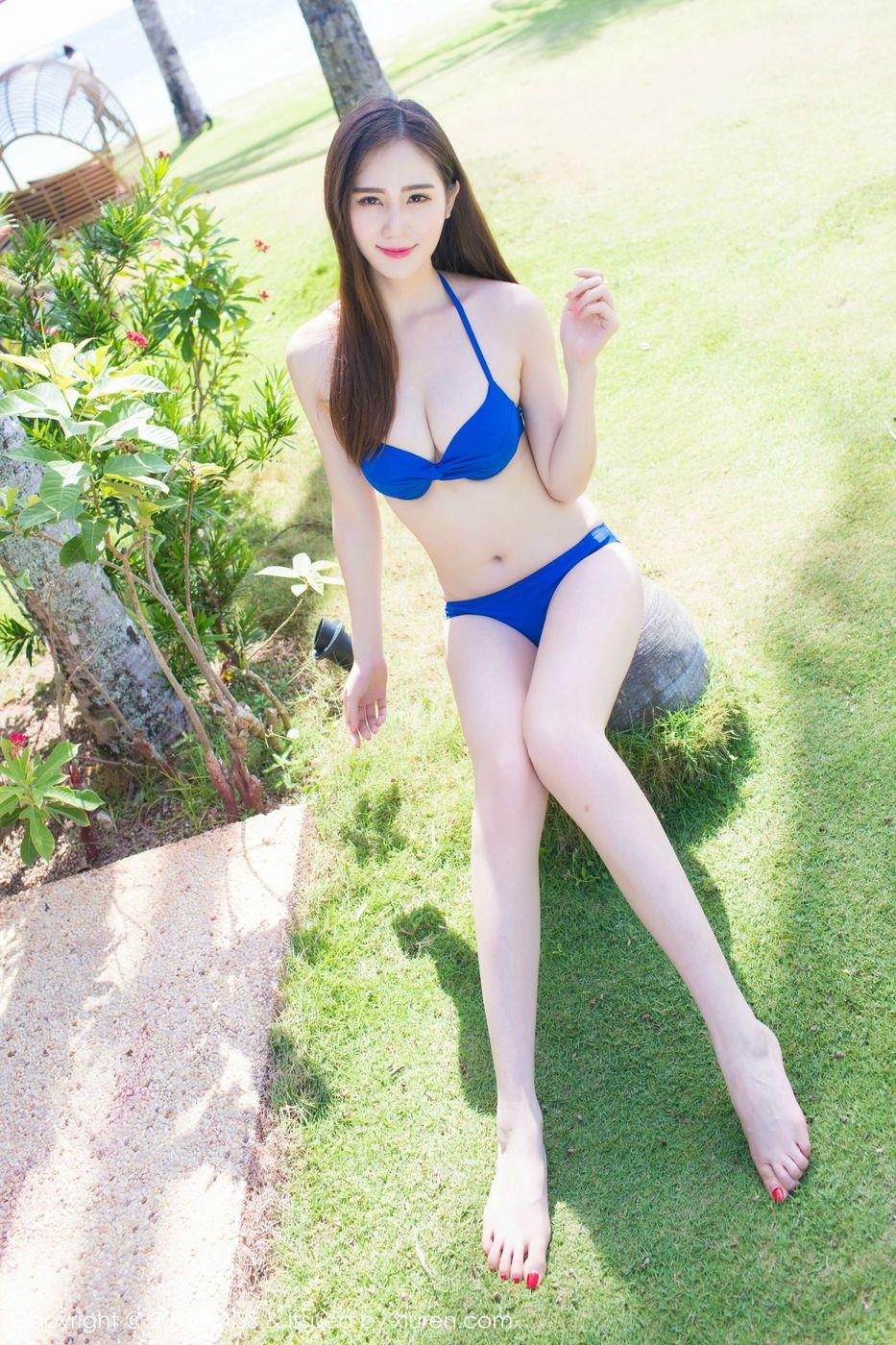 比基尼内衣诱惑清新美女美胸沙滩美女美女模特爱蜜社-[SISY思]超高清写真图片|1620141165更新