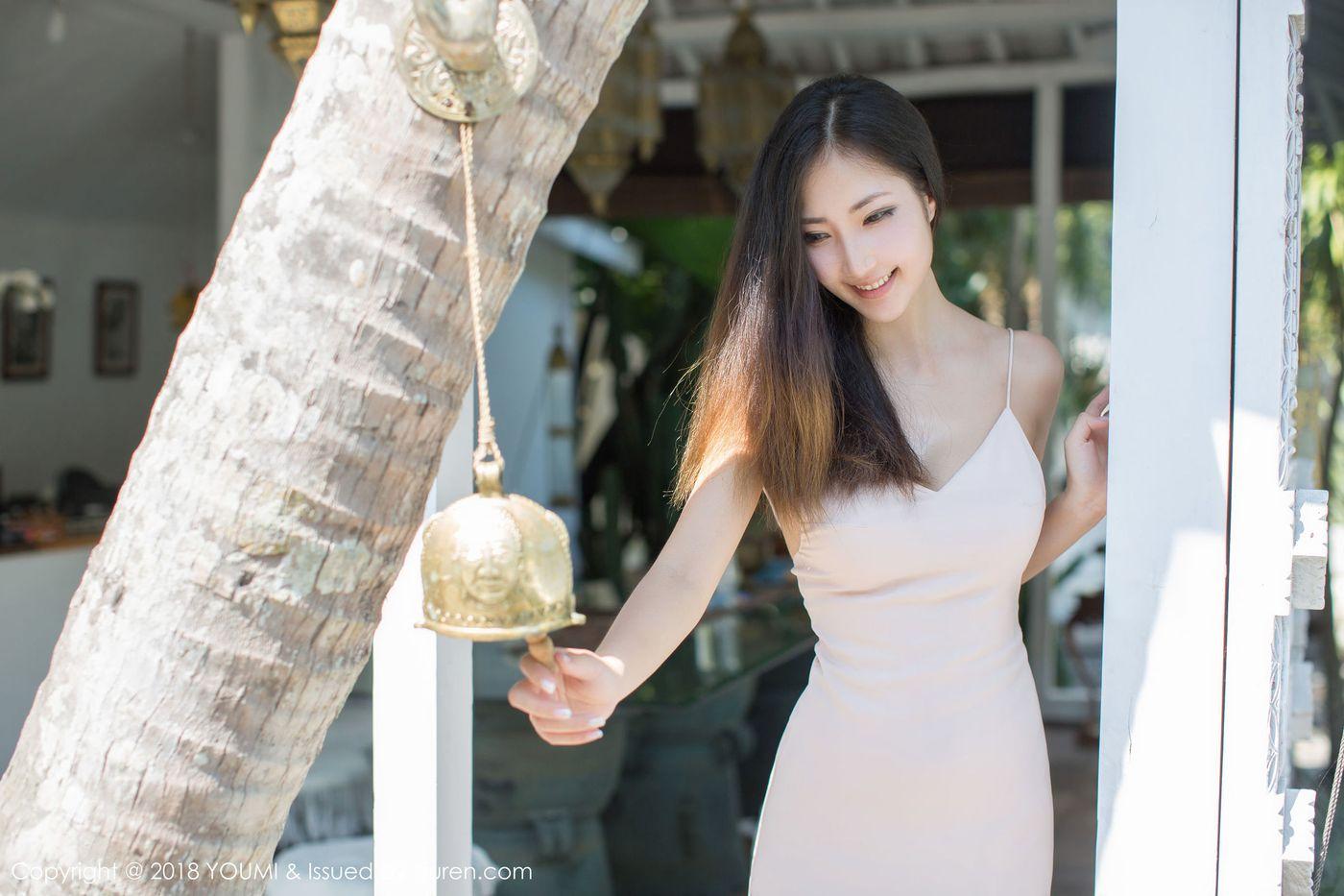 比基尼内衣诱惑沙滩美女湿身诱惑爆乳性感女神尤蜜荟-[Yumi尤美]超高清写真图片 1620143191更新