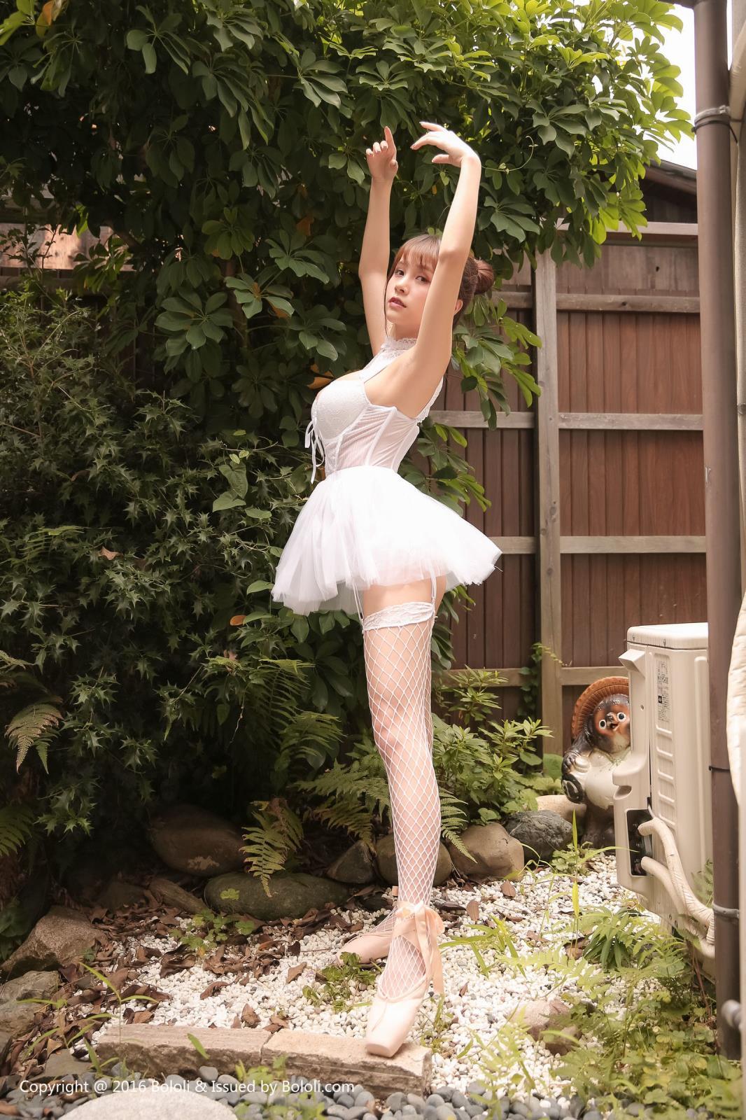 芭蕾舞少女嫩模极品美女大尺度内衣诱惑波萝社-[夏美酱]超高清写真图片|1620069620更新