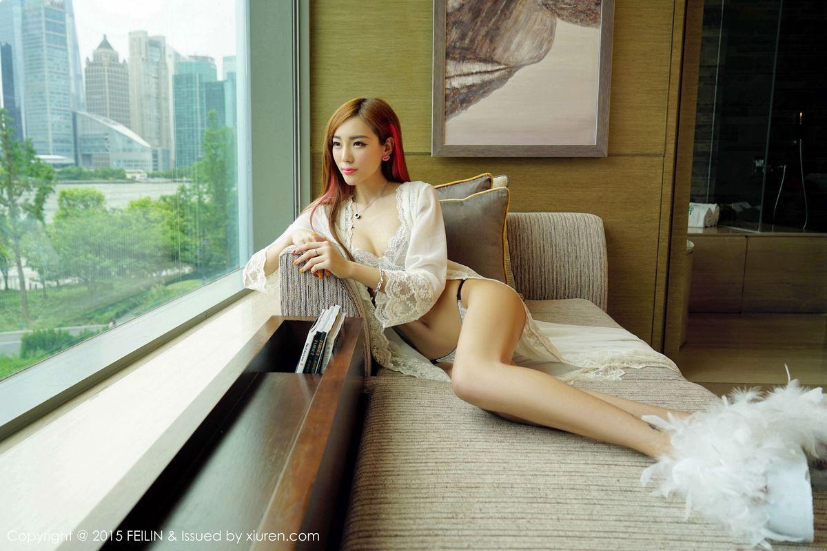 美腿内衣诱惑黑丝美腿床照嫩模性感美女嗲囡囡-[梦小楠]超高清写真图片|1620255872更新