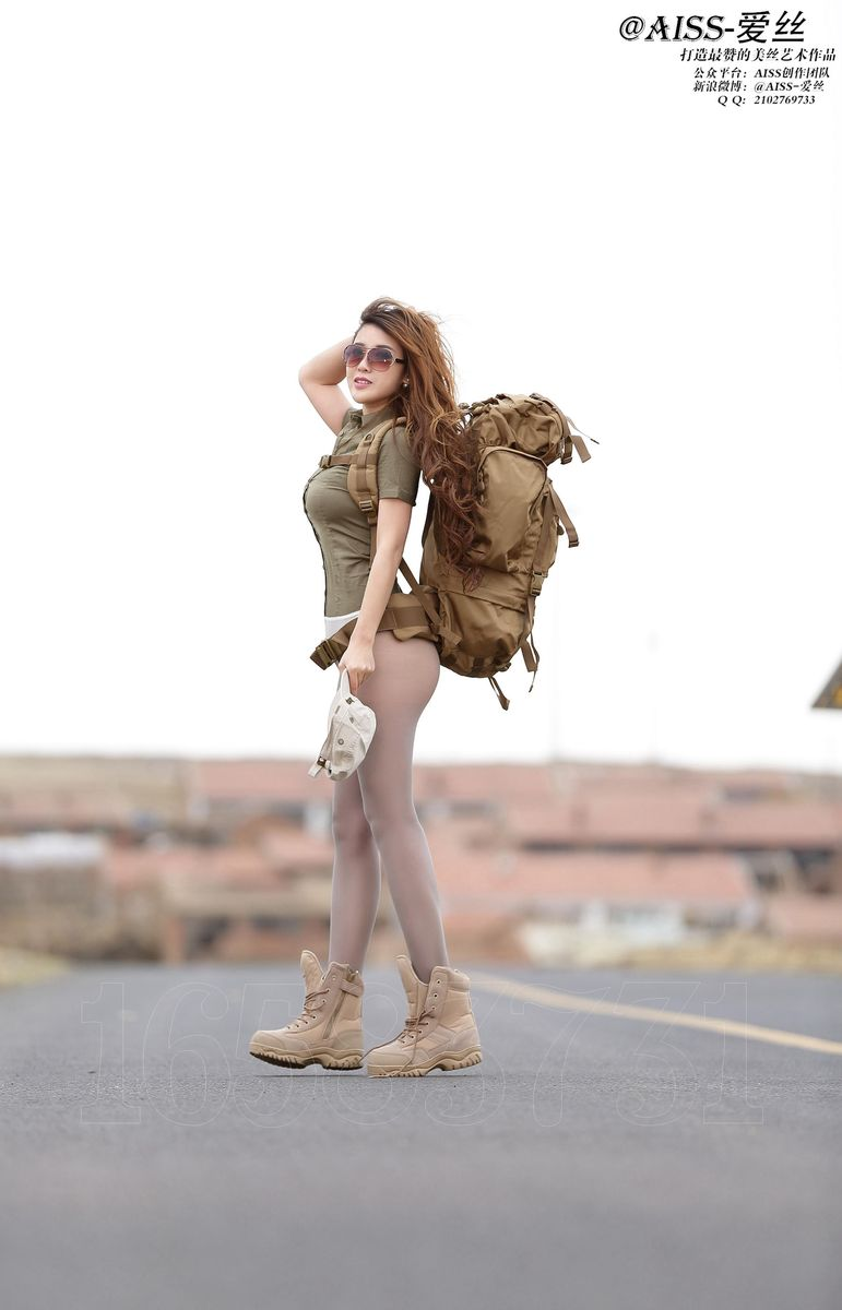 丝袜美腿翘臀透视装人体艺术大尺度美女模特AISS爱丝-[若兮Baby]超高清写真图片|1620268310更新