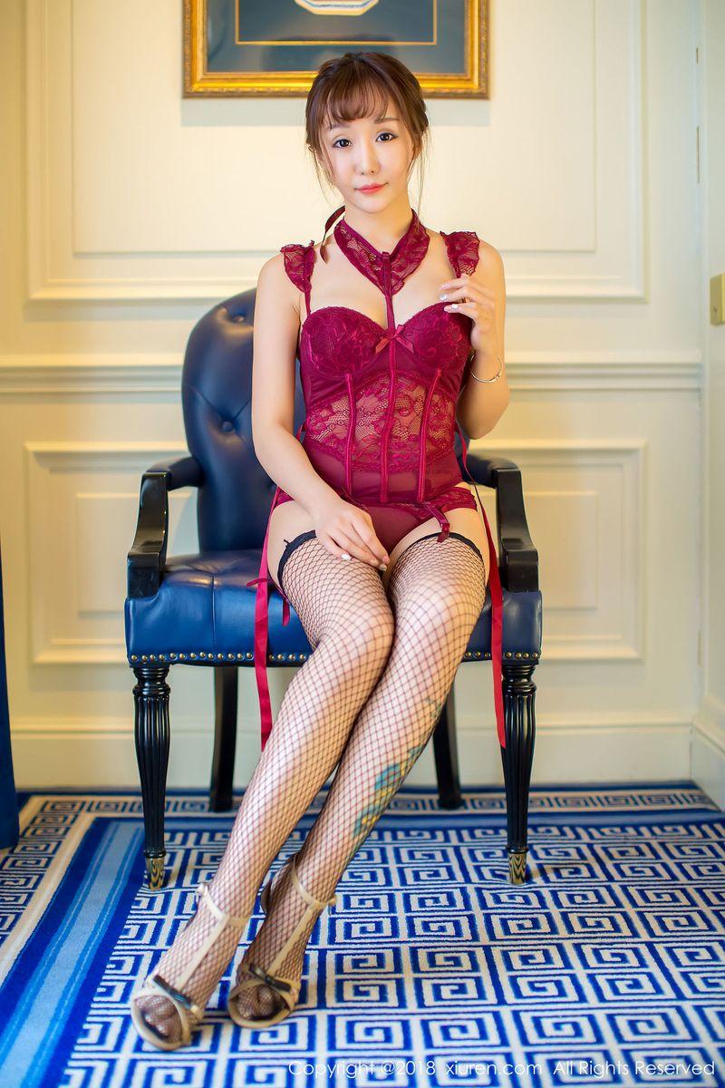 豹纹情趣内衣黑丝美腿人体艺术大尺度美女模特秀人网-[籼米儿]超高清写真图片 1620271613更新