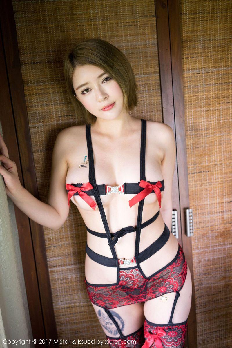 比基尼情趣内衣吊袜大尺度性感美女美女模特魅妍社-[萌尤星凯竹]超高清写真图片|1620328574更新