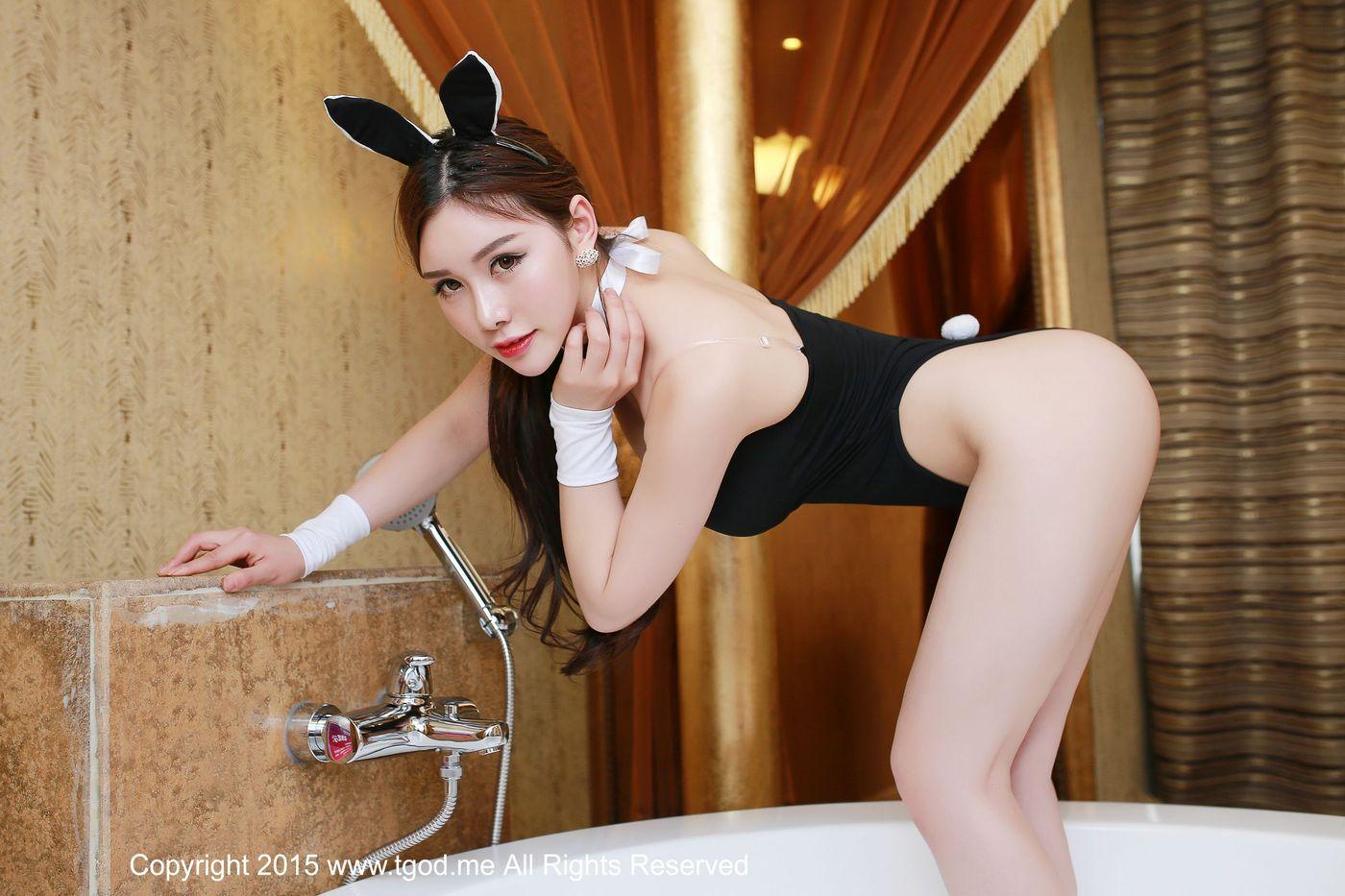 兔女郎翘臀爆乳浴室美女嫩模性感女神推女神-[于姬]超高清写真图片|1620154024更新