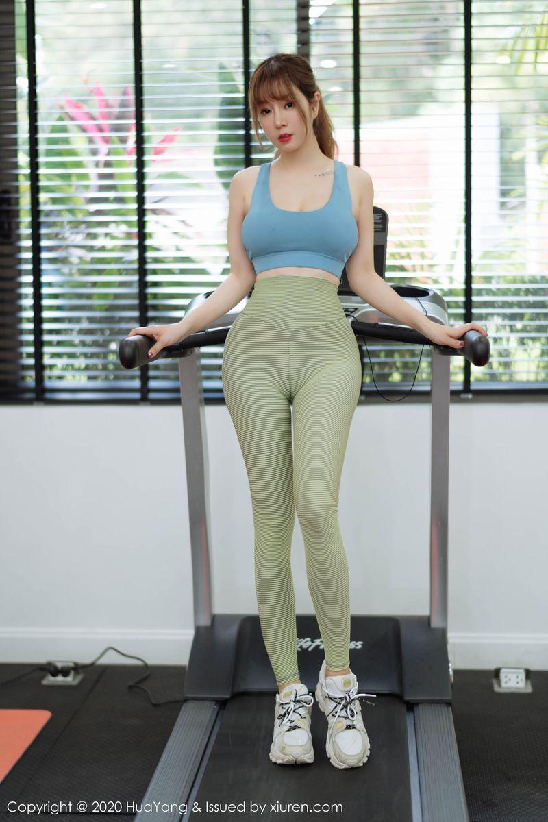 翘臀紧身裤嫩模运动美女性感女神花漾写真-[王雨纯]超高清写真图片 1620341387更新