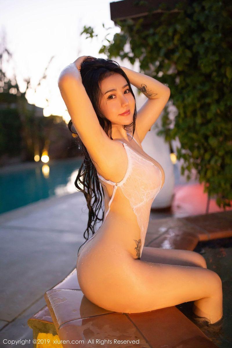 湿身诱惑翘臀大尺度人体艺术极品美女美女模特秀人网-[玛鲁娜]超高清写真图片|1620342579更新