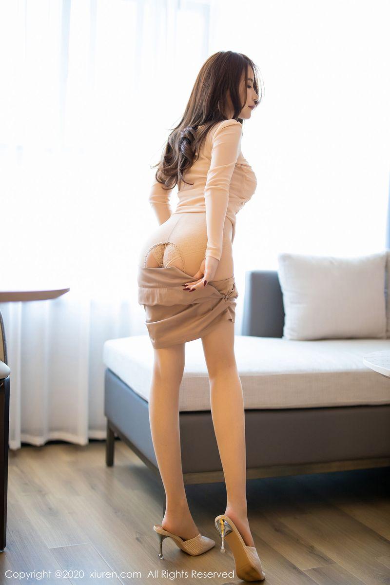 丝袜美腿高跟鞋翘臀内衣诱惑性感女神秀人网-[绯月樱]超高清写真图片|1620365195更新