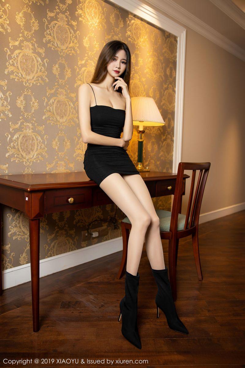 吊裙丝袜美腿私房照长发美女嫩模美女模特语画界-[程程程-]超高清写真图片|1620406134更新