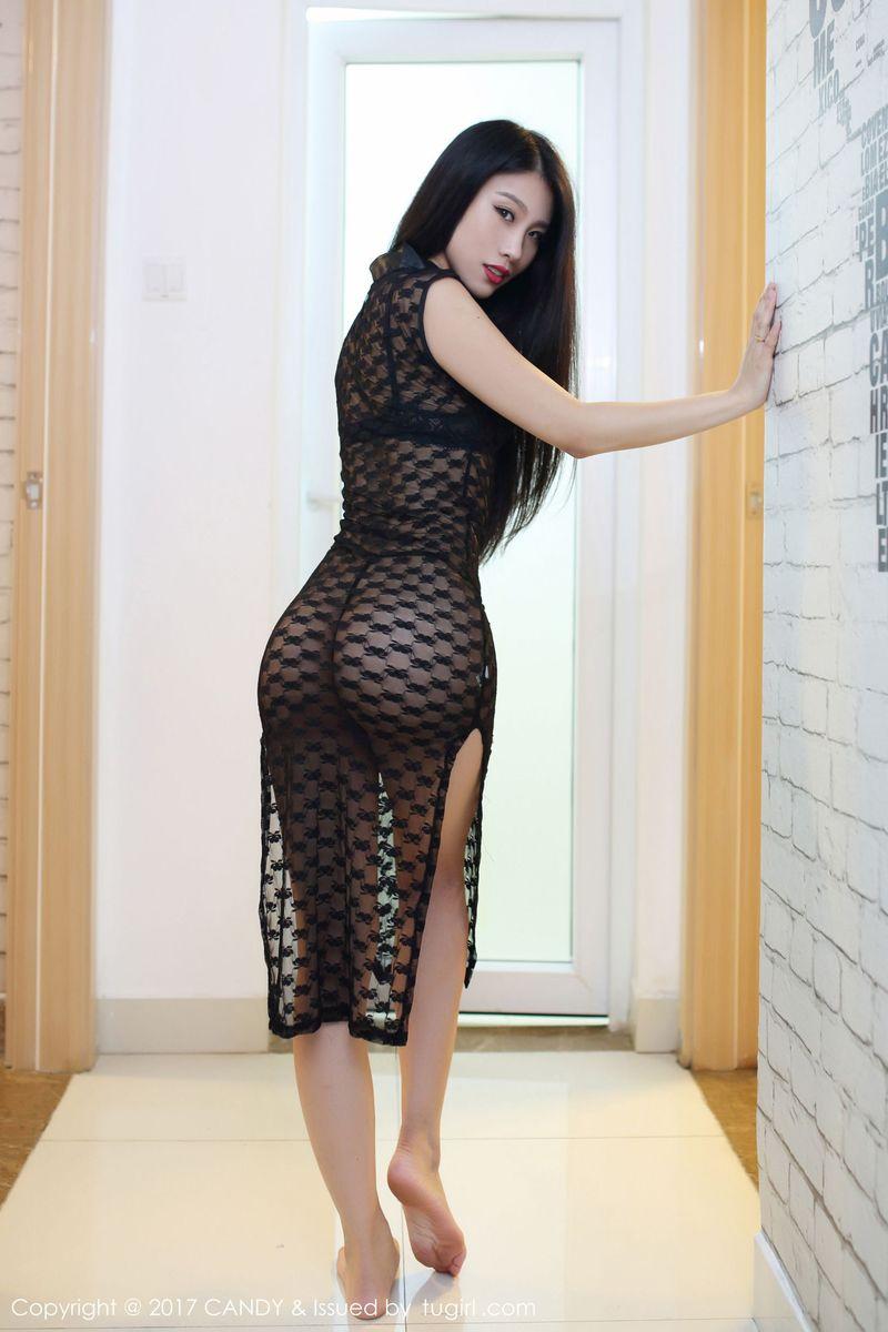 翘臀黑丝美腿大尺度床照情趣内衣美女模特糖果画报-[战姝羽]超高清写真图片 1620233602更新