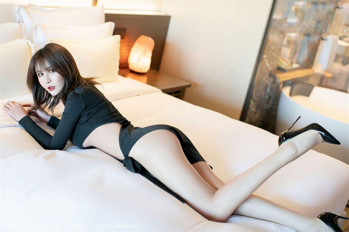 养眼美女内衣诱惑翘臀丁字裤美胸性感美女模范学院-[熊吖BOBO]超高清写真图片|1620176611更新