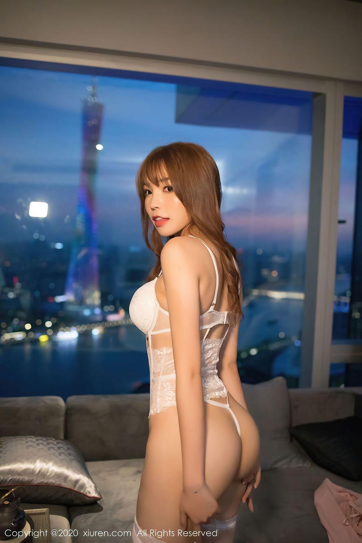 内衣诱惑大尺度翘臀美胸情趣内衣美女模特嗲囡囡-[栗子Riz]超高清写真图片|1620193291更新