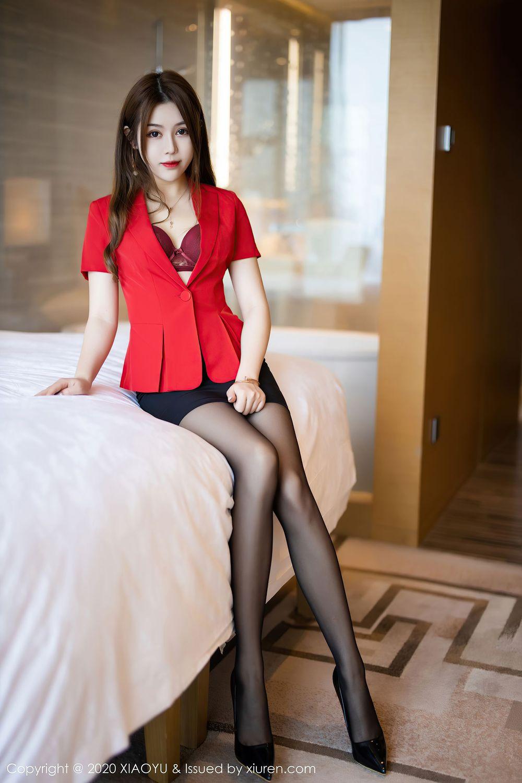黑丝美腿职场OL内衣诱惑翘臀都市丽人极品美女语画界-[梦梵]超高清写真图片|1620428667更新
