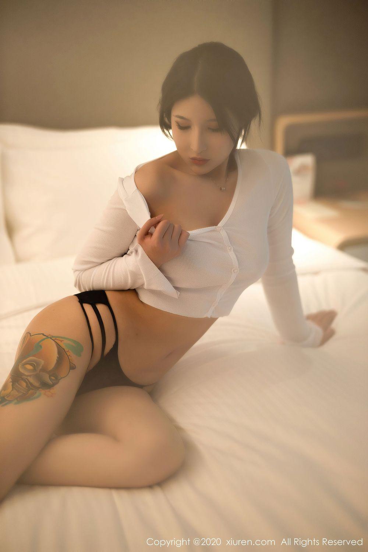 翘臀丁字裤小蛮腰床照嫩模性感美女秀人网-[姝姝妹妹]超高清写真图片|1620438942更新
