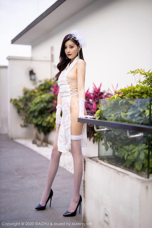 丝袜美腿高跟鞋丁字裤情趣制服大尺度性感女神语画界-[杨晨晨]超高清写真图片|1620446843更新